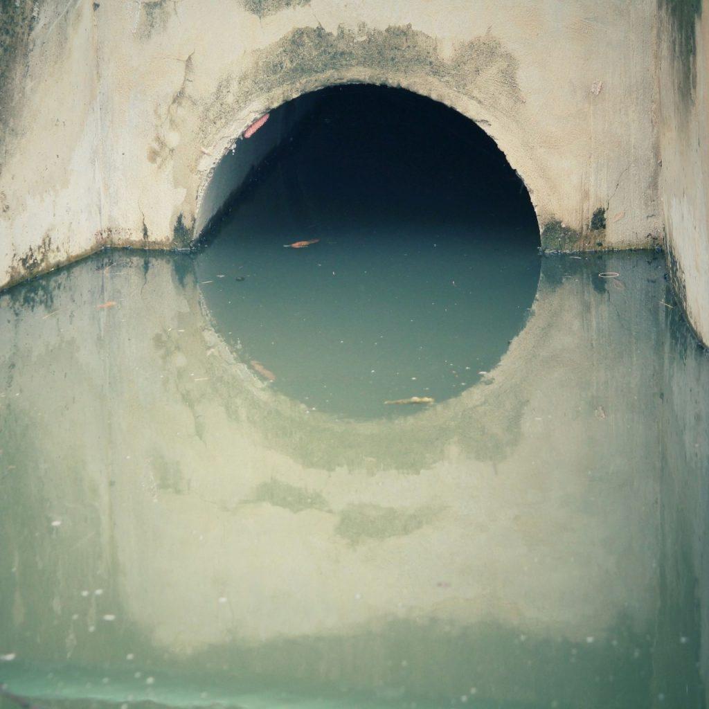 concrete plumbing