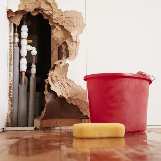 broken plumbing